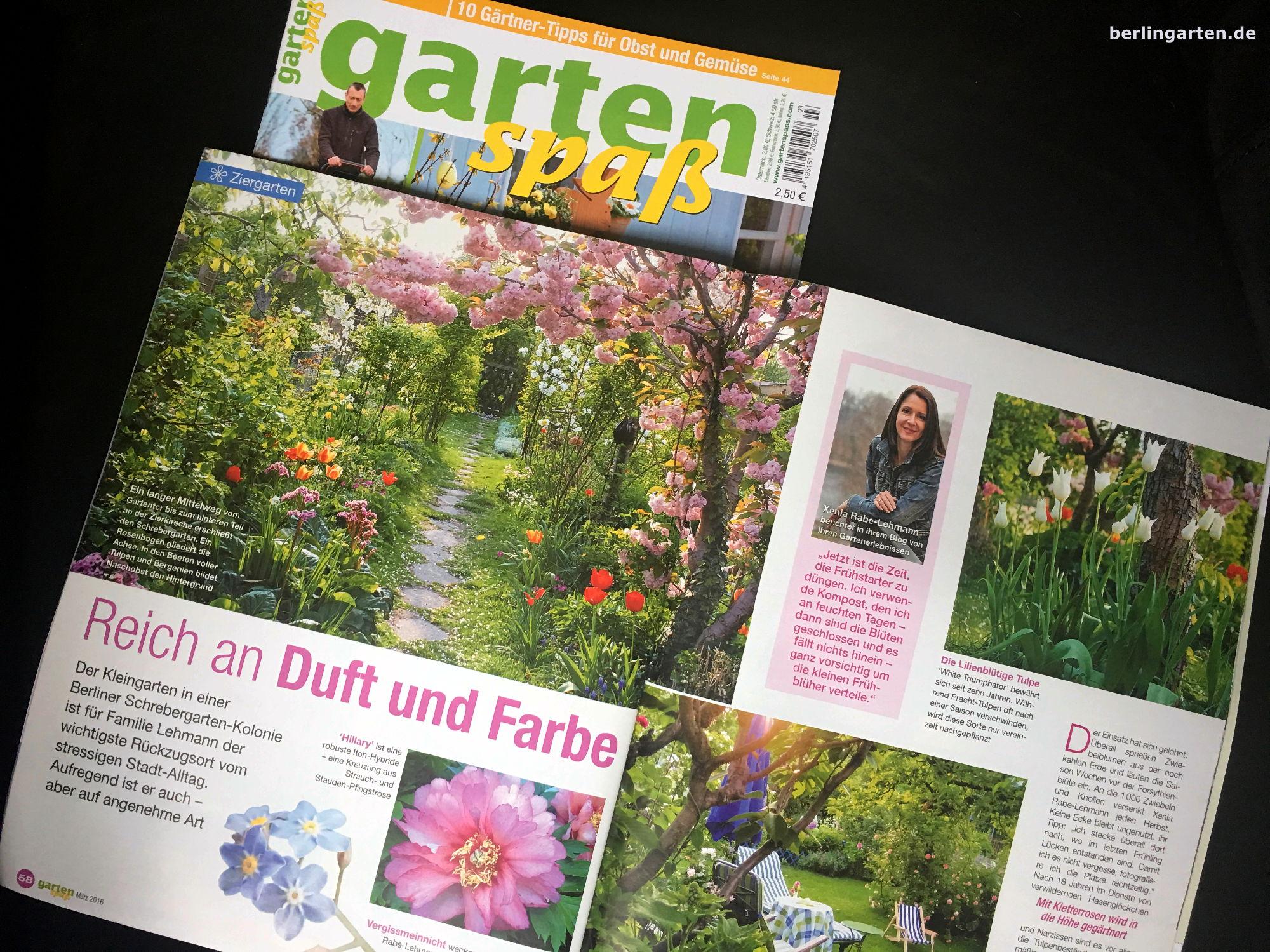 Artikel beim Burda-Verlag