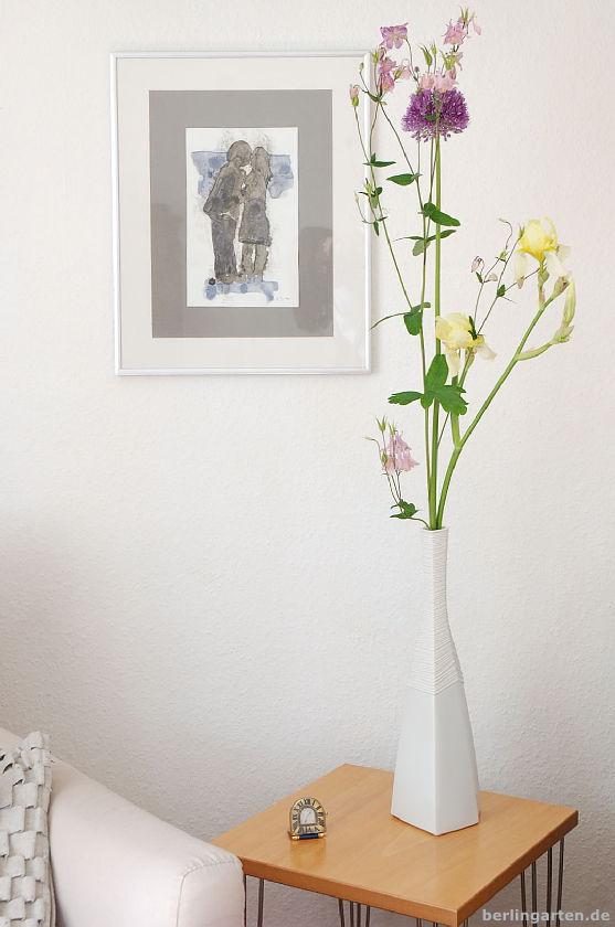 Allium, Iris, Akelei
