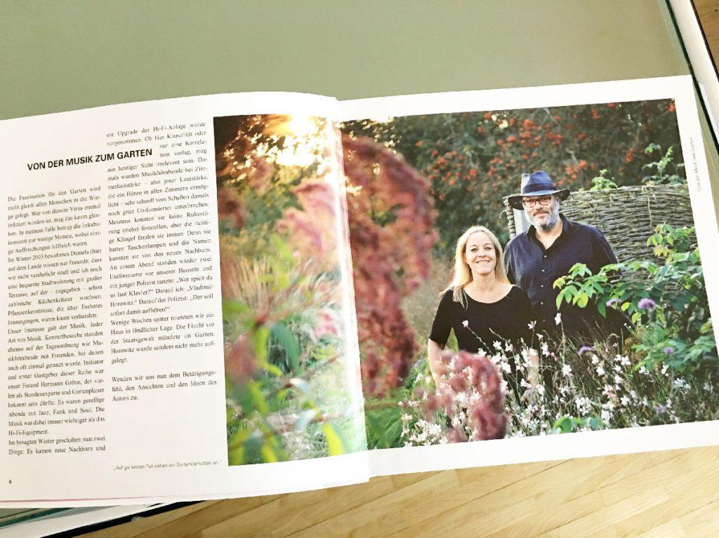 Garten-Deam-Team: Daniela Pawert und Torsten Matschiess