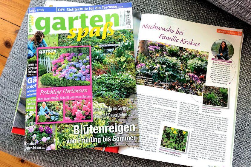 berlingarten Gartenkolumne Gartenspaß März