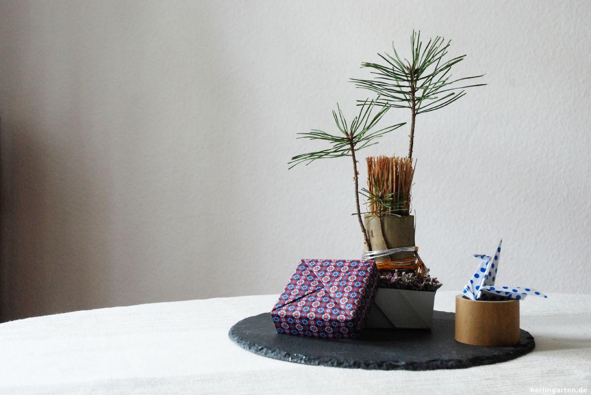 Mein Ikebana zu Neujahr