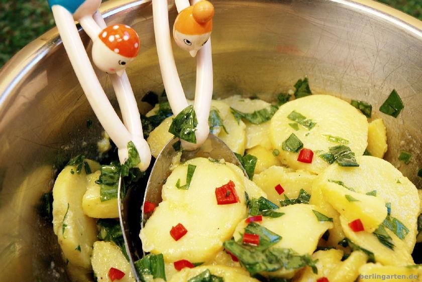 Kartoffel-Bärlauch-Salat