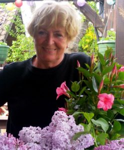 Rittersporn-Gärtnerin Christel