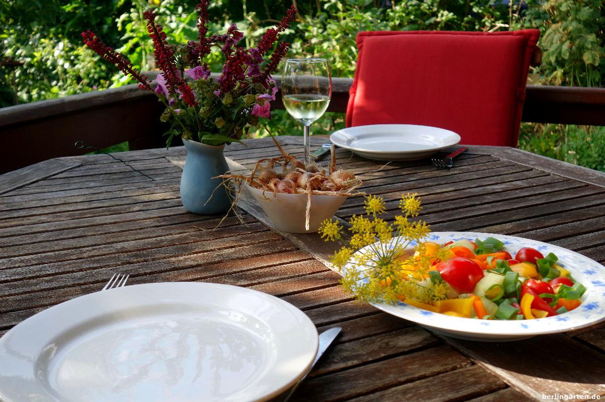 Salat Abendessen