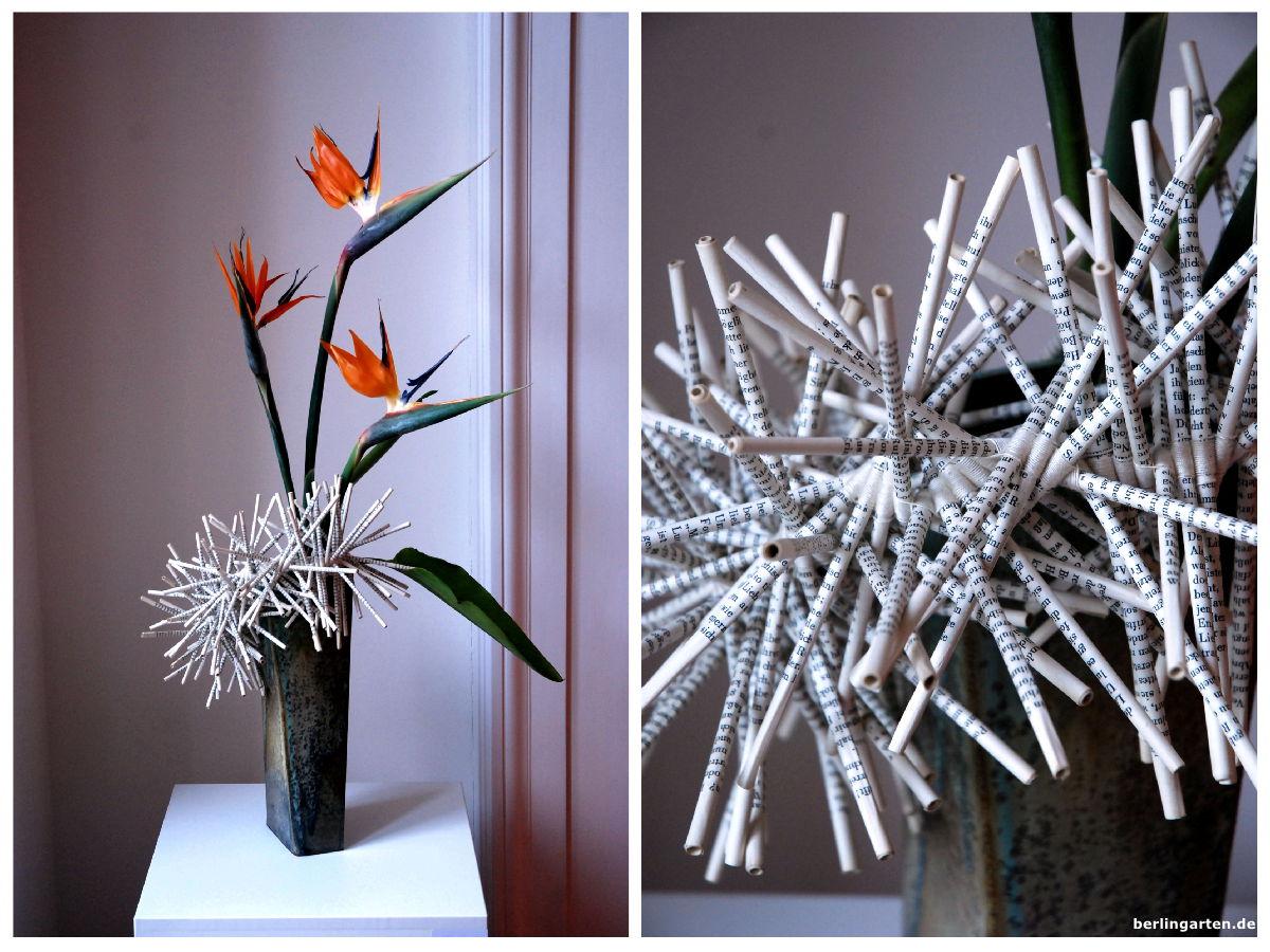 bl tenwissen absolut sehenswerte ikebana ausstellung in. Black Bedroom Furniture Sets. Home Design Ideas