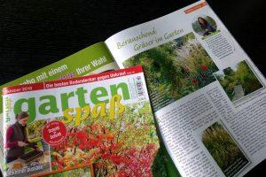 Gartenkolumne GartenSpaß Oktober