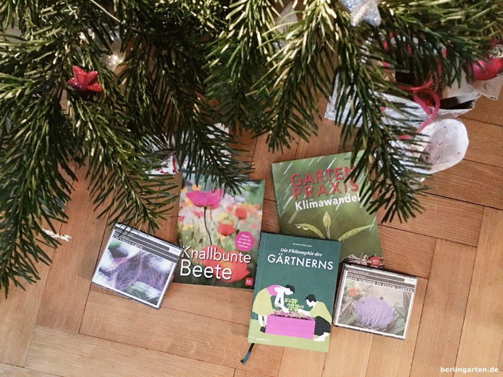 Weihnachtsgeschenke von berlingarten: Verlosung von Gartenbüchern