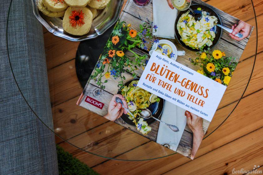 Titel Blüten-Genuss mit Ringelblumen-Shortbread