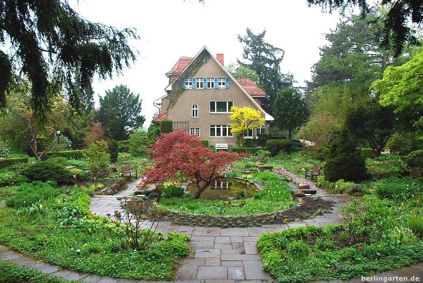 Foerster-Garten: Blick zum Haus