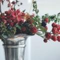 Brombeerranken in der Vase