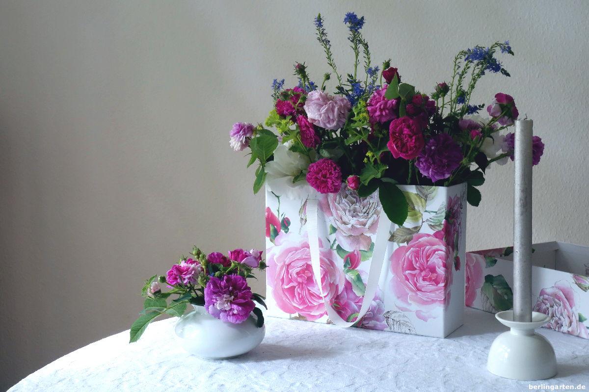 Gartenrosen In Der Blumenbox Ganz Leicht Selbst Arrangiert
