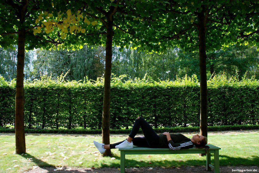 Entspannung Garten
