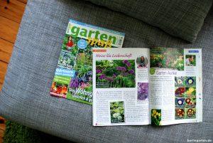 Die berlingarten-Kolumne in der Mai-Ausgabe der GartenSpaß
