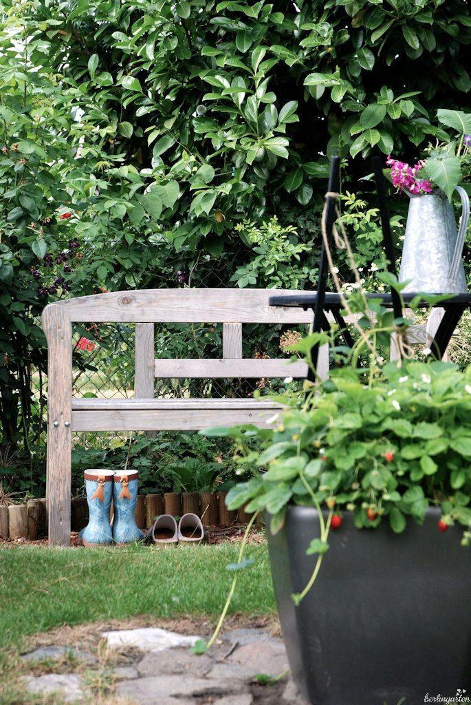 Gartenszene