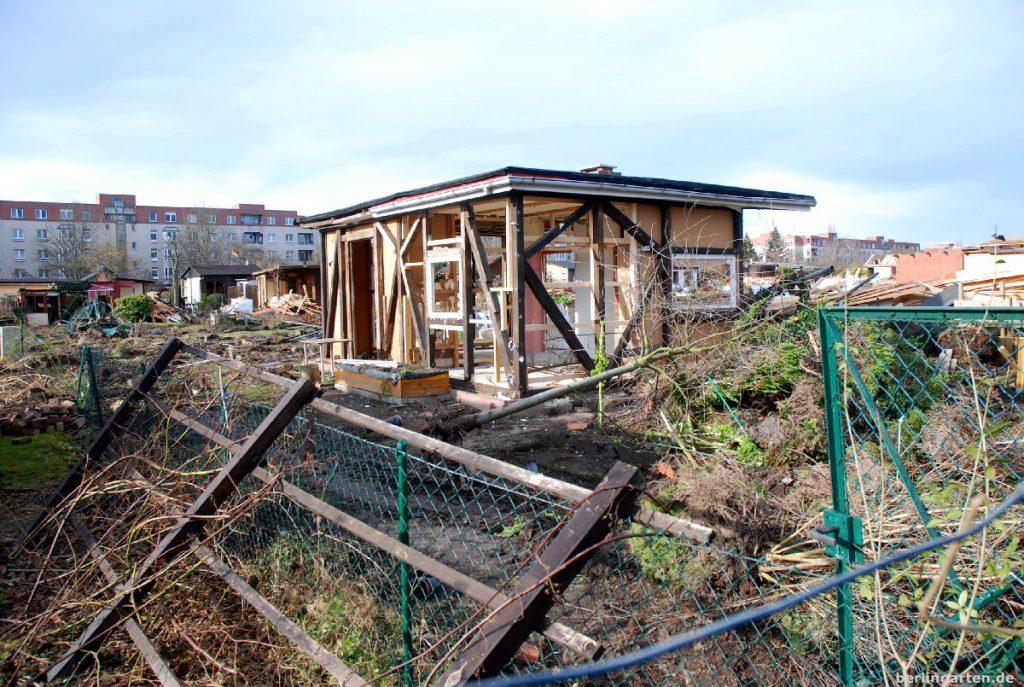 Kompletter Abriss von 150 Gärten der Kolonie Oeynhausen in Berlin