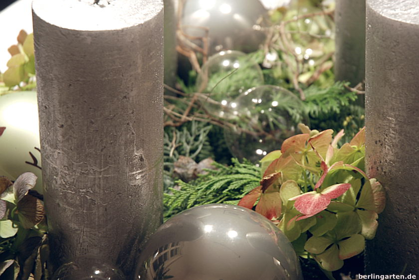 Adventskranz Detail
