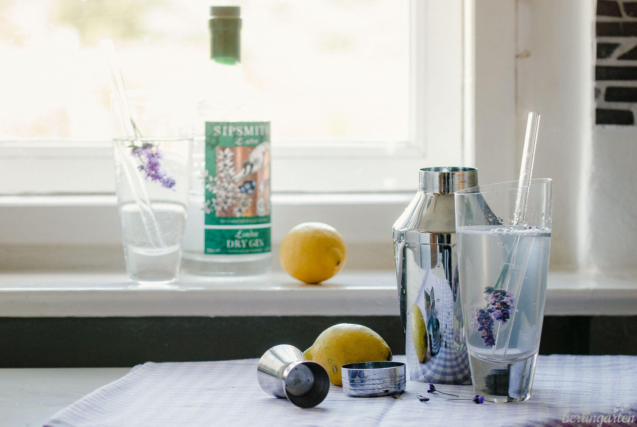 Rezept Lavendel Gin Tonic