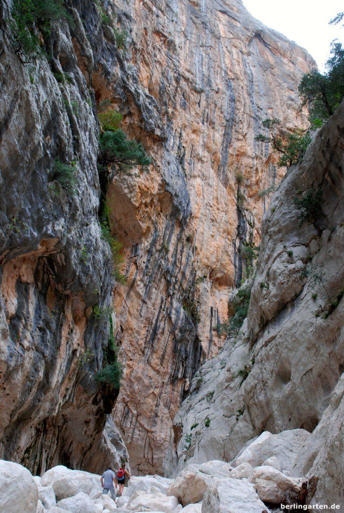 Schlucht Gola su Gorropu - die größte Sardiniens