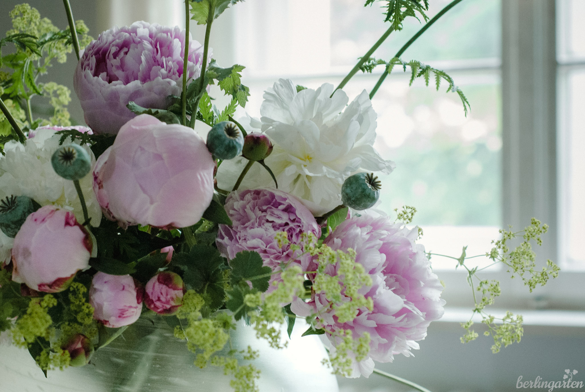 Blumenstrauß Pfingstrosen