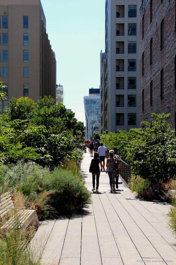 Highline Park: 2,3 km lang aber oft sehr schmal