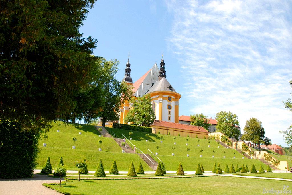 Terrassen Kirche St. Marien Neuzelle