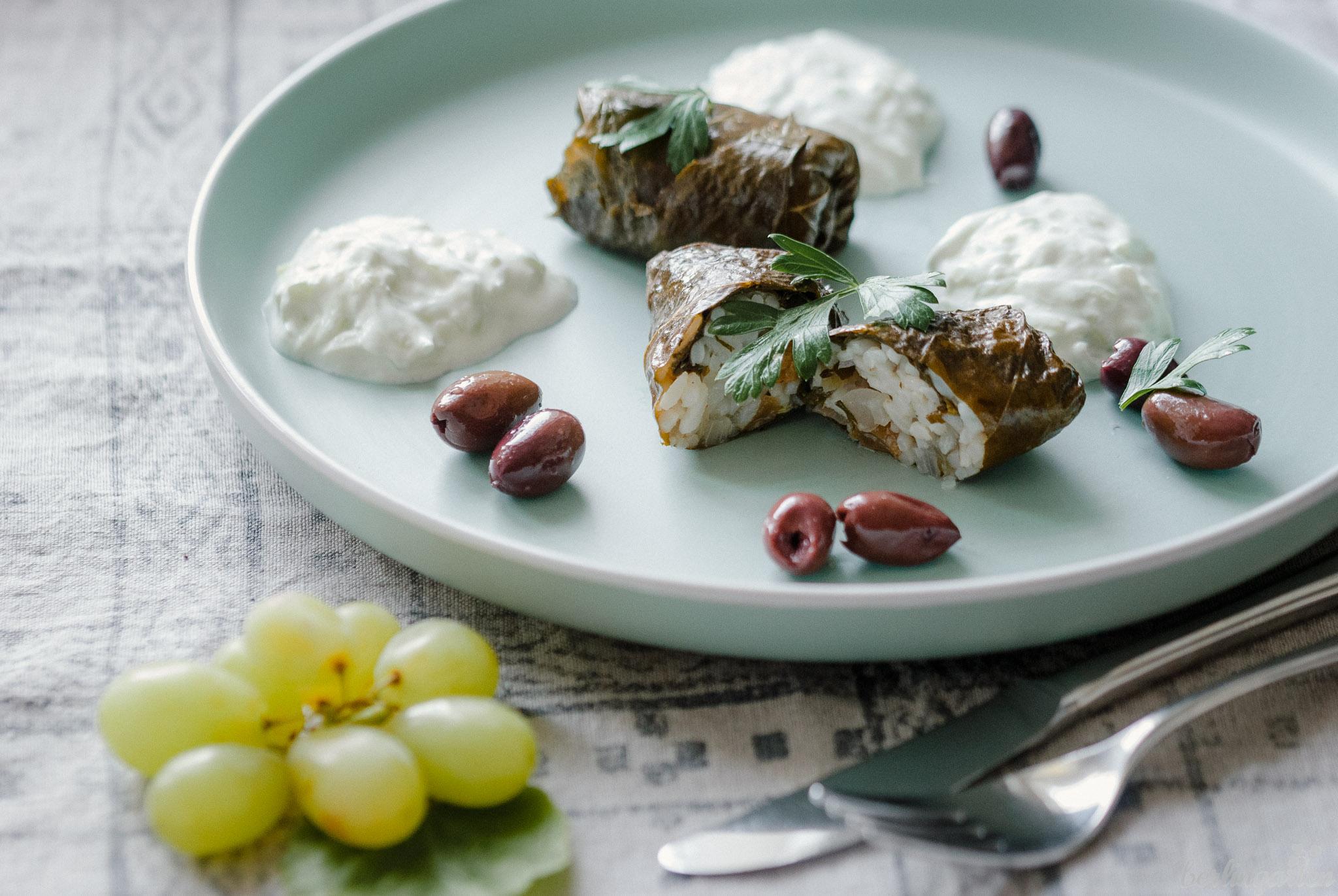 Weinblätter Rezept griechisch