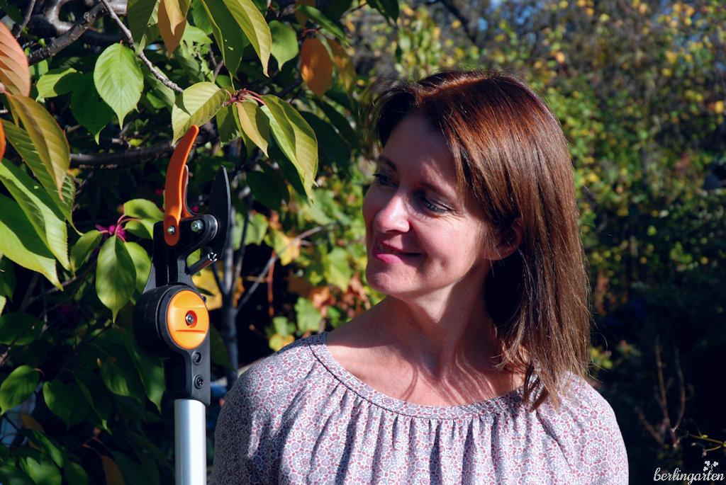 Xenia mit Fiskars PowerGear