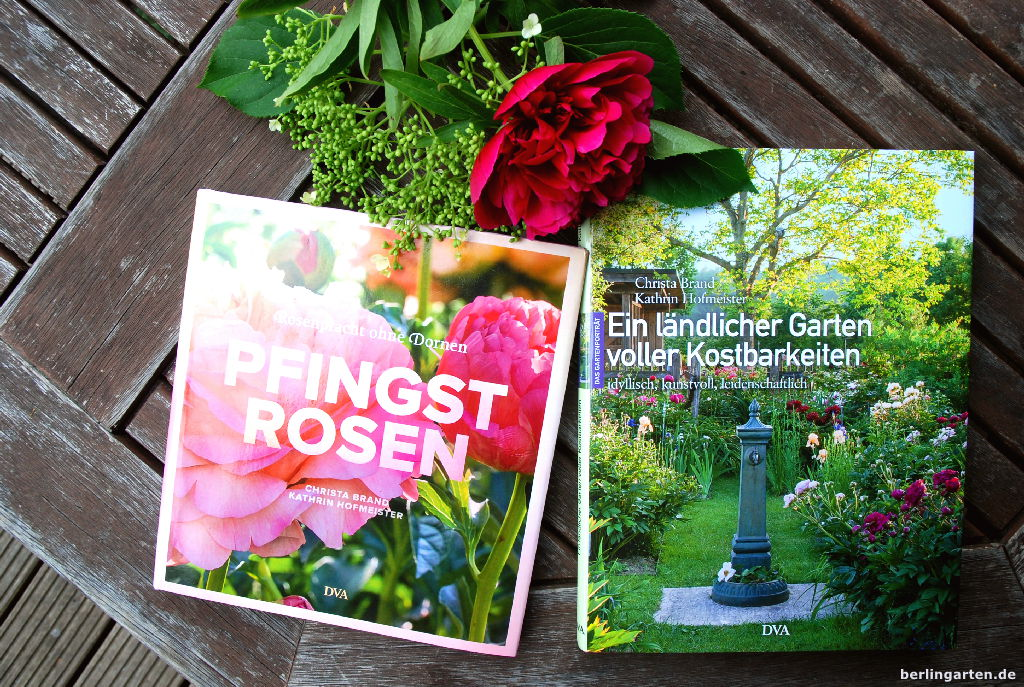 Zwei Pfingstrosen-Bücher von Hofmeister
