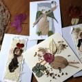 Weihachtskarten mit Engeln