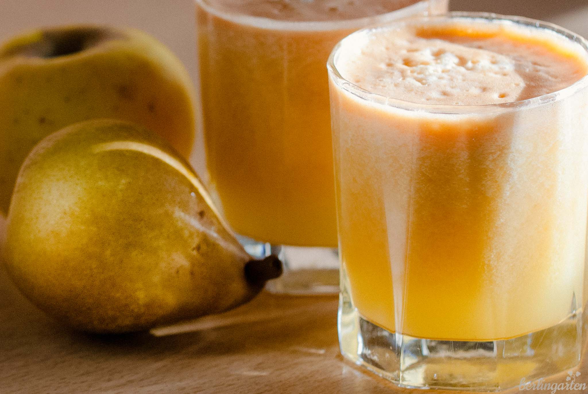 Apfelsaft herstellen