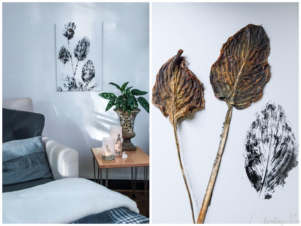 Blätter zu Bildern