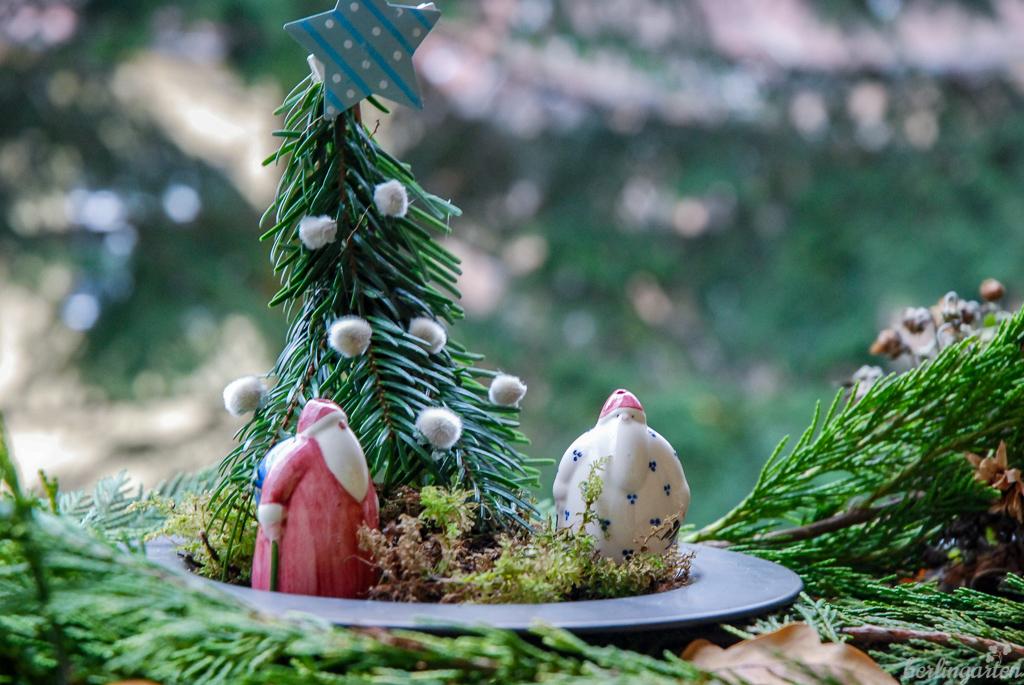 Miniatur Weihnachtsszene